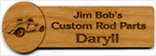 Wooden Nametag