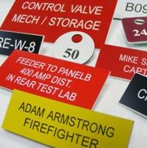 Engraved Plastic Tags