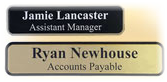 Laser Engraved Plastic Name Tags